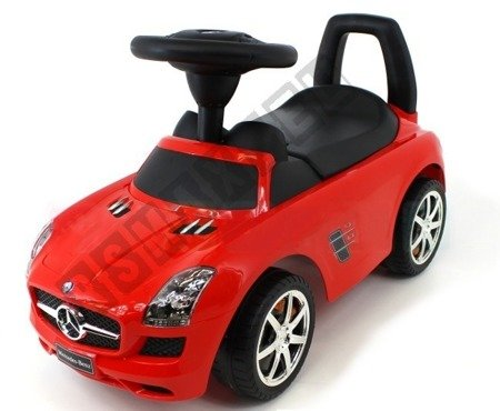 MERCEDES SLS AMG pusher Walker red