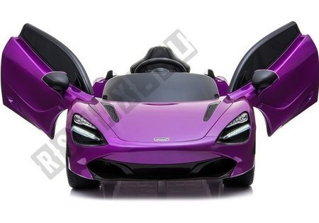 McLaren 720S Electric Ride On Car - Purple Painted