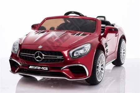 Mercedes-Benz SL65 Coupe on  maroon lacquered