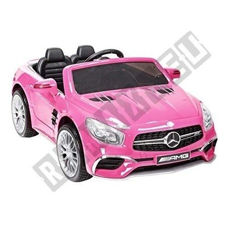 Mercedes-Benz SL65 Coupe on  pink