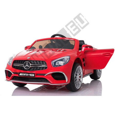 Mercedes-Benz SL65 Coupe on  red