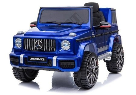 Mercedes G63 AMG Electric Ride On Car – Blue Painting