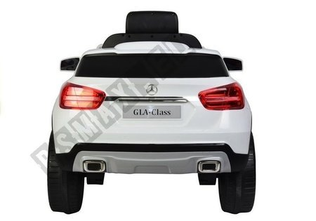 Mercedes GLA45 AMG White - Electric Ride On Car