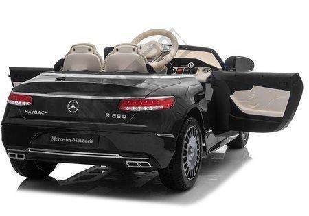 Mercedes Maybach Electric Ride On Car - Black
