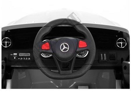 Mercedes SL Ride On Car - White