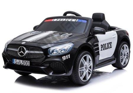 Mercedes SL500 Electric Ride On Car Police Black