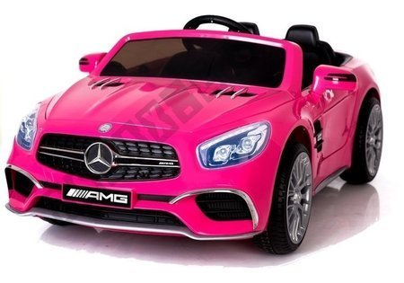 Mercedes SL65 Pink MP3 - Electric Ride On Vehicle
