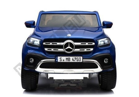 Mercedes X Electric Ride On Car - Blue Painting