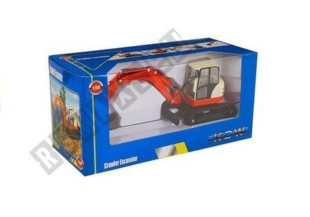 Metal Excavator with big Arm 1:50 Die Cast Model