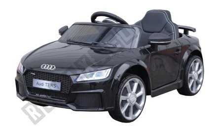 Mini Audi TT RS for rechargeable battery Black licence