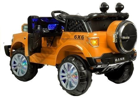 Orange Electric Ride On Car KP-6188