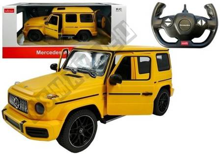 R/C Car Mercedes G63 R/C Rastar Yellow 1:14