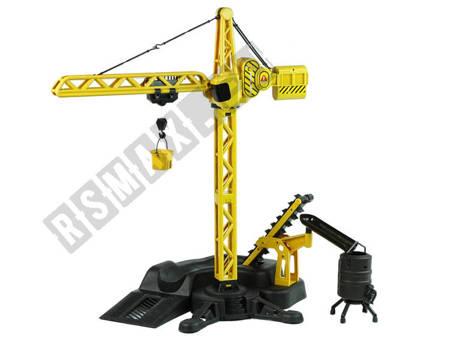 R/C Crane Radio Control Construction Site Set