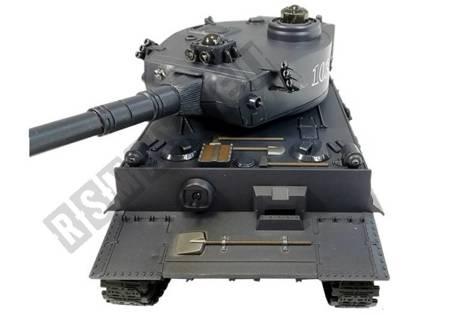 R/C Tank 1:28 with Enemy Bunker Black Tiger I