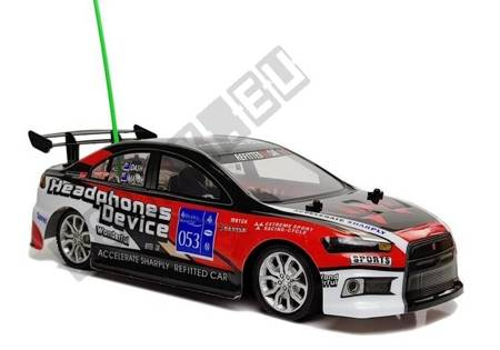 Sport Racing Remote Controlled Car  R/C 27Mhz Red