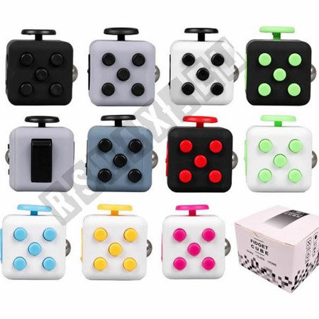 The original super FIDGET CUBE cube Black-Yellow