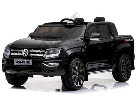 VW Amarok Black + MP4 - Ride on Car