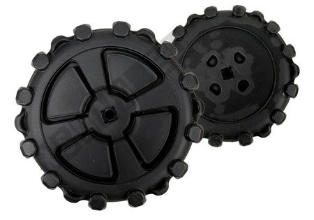 Wheel for Electric Ride-On Quad 31 cm tall 13,5 cm wide