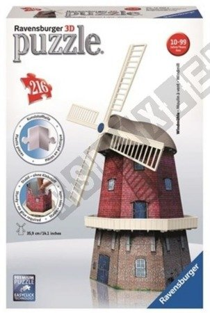 3D Holländische Windmühle Puzzle 216 Elemente