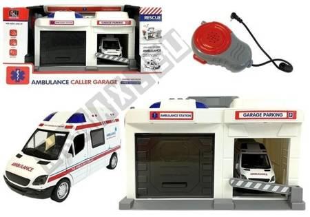 Ambulance Service Base mit Mikrofon und Lautsprecher