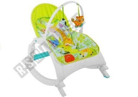 Babywippe 2 Rasseln Schaukel Sitz Wippe Babywippe mit Vibration