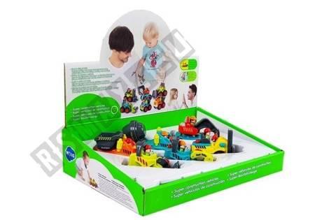 Bau Spielzeug für einen Kleinkind Betonmischer Bagger