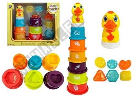 Bildungspyramide für Kinder Bauen Sie einen Turm, Sortierer, spielen Sie im Wasser
