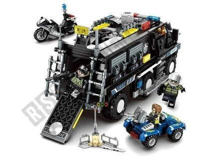 Bricks SWAT Special Forces VAN 705 Elements