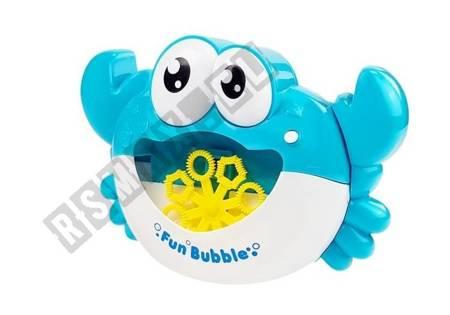 Bubble Making Maschinengebläselösung Bubbles Maker Automatische Maschinenkrabbe Blau