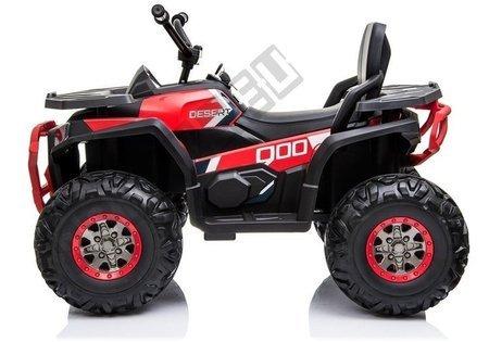 Elektro Quad XMX607 Rot Ledersitz EVA-Reifen LED Frontscheinwerfer 2x45W