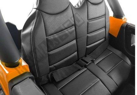 Elektroauto für Kinder Audi Q7 S-Line Schwarz Lackiert Ledersitz EVA-Reifen