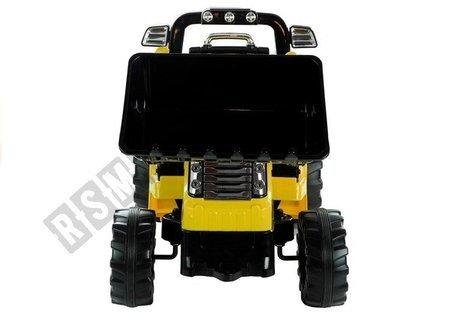 Elektroauto für Kinder Baggerlader Traktor Schlepper ZP1005 Gelb 2.4G