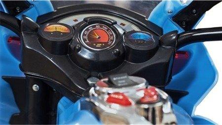 Elektromotorrad Kindermotorrad Kinderelektroauto Kinderfahrzeug Dreirad Blau