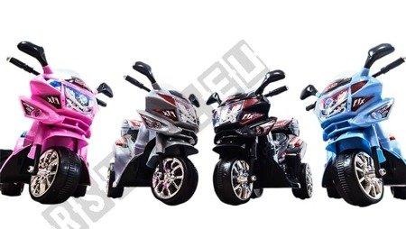 Elektromotorrad Kindermotorrad Kinderelektroauto Kinderfahrzeug Dreirad Schwarz
