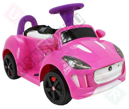 Fahrzeugbatterie Jaguar F-Type rosa