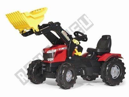 Farmtrac MF 8650 mit schwarzem und rotem Eimer!