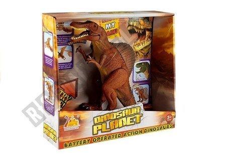 Großer batteriebetriebener Dinosaurier brüllt Tyrannosaurus