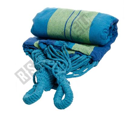 Hängematte 160x200cm Belastung bis 200kg verschiedene Farben Baumwolle