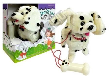 Hund an der Leine Interaktiver Hund Dalmatiner