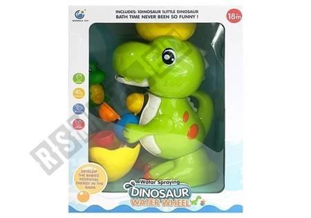 Kąpielowy Dinozaur Młynek Tryskający Wodą