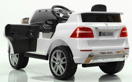 Kinderauto Mercedes Benz ML350 SUV Elektroauto Ledersitz EVA Neu 2017! Weiß