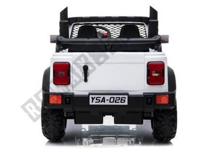 Kinderauto YSA026 Weiß