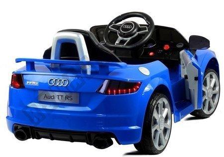 Kinderfahrzeug Audi TT RS Quattro Blau Elektroauto Audi 2.4G EVA Reifen