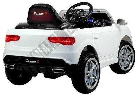 Kinderfahrzeug HL1558 Weiß 2,4G Ledersitz Auto