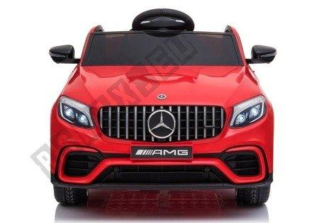 Kinderfahrzeug Mercedes GLC 63S Rot