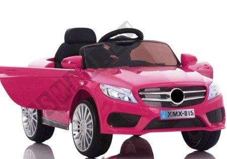 Kinderfahrzeug XMX815 Rosa 2x45W Frontscheinwerfer Schalter am Lenkrad Auto