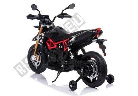 Kindermotorrad Aprilia A007 Schwarz