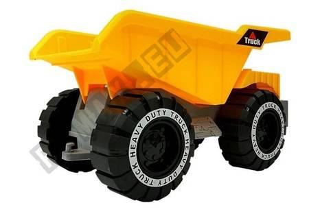 Kipper mit Anhänger und Bulldozer 49 cm Baustelle