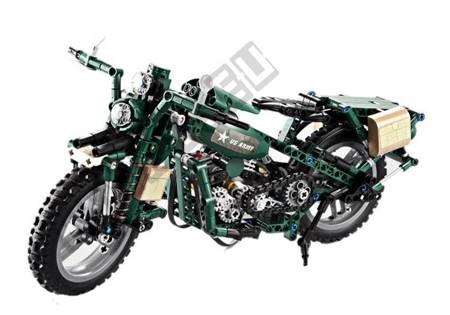 Klocki Konstrukcyjne Cada Motocykl Militarny 550el
