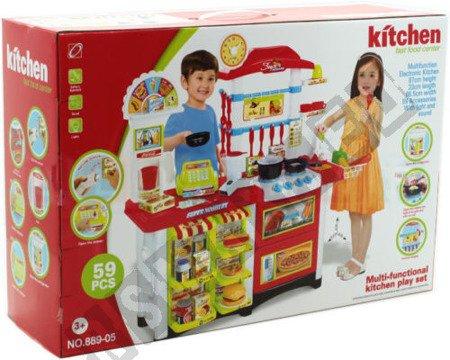 Küche-Geschäft + Kasse 60! Kinderküche Spielküche Spielzeug Super Geschenk !